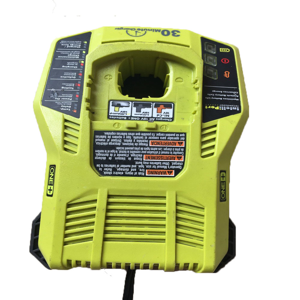 все цены на P117 Original Used Tool Accessory Power Tools NI-CD NI-MH Li-ion Battery Charger For Ryobi 14.4V 18V Serise Battery онлайн