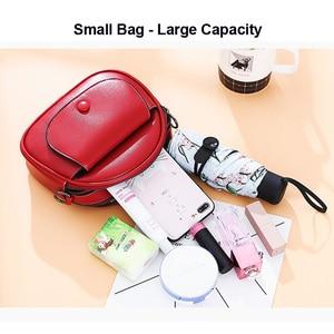 Image 5 - REPRCLA Fashion Designer Women Shoulder Bag PU Leather Crossbody Messenger Bags Ladies Handbag Bolsa Feminina