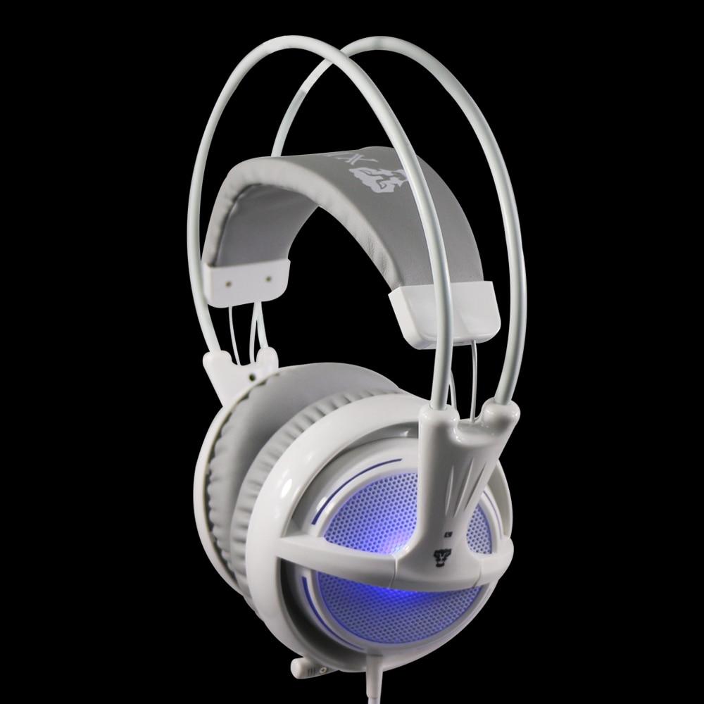 Xibter stereo igralne slušalke z mikrofonom modro LED svetlobo - Prenosni avdio in video - Fotografija 5