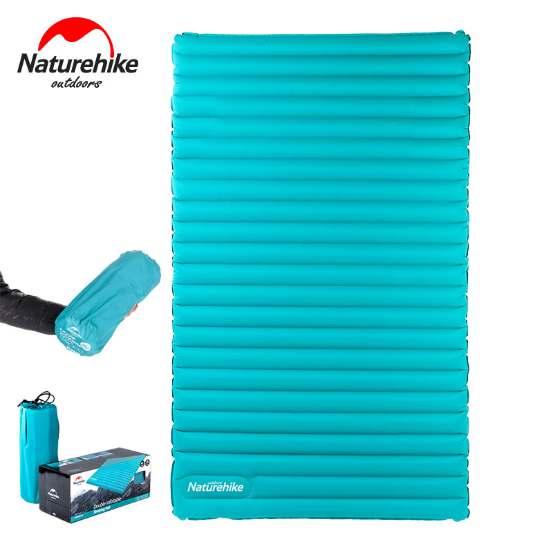 Naturehike 2 3person inflatable sleeping pad ultralight for Best mattress for lightweight person
