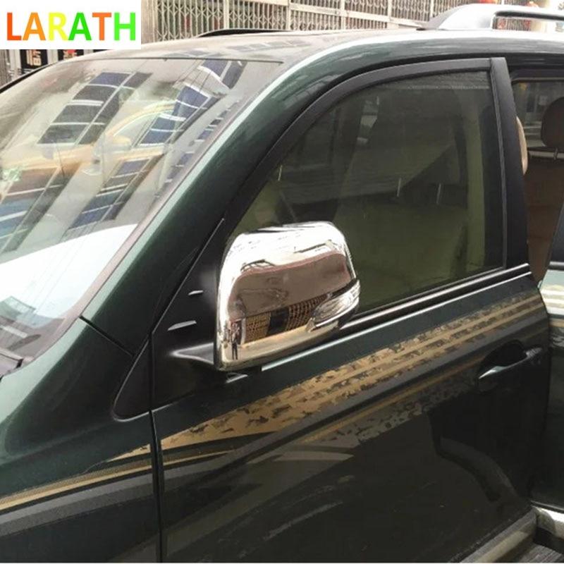 For Toyota Estima 2016 2017 Chrome ABS Car Rearview Mirror Molding Trims