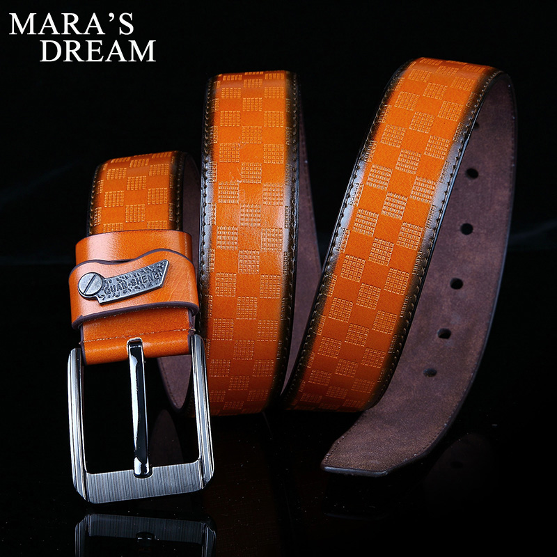 2018 New Mens Fashion Belts 120cm Leisure Business Casual Wild High