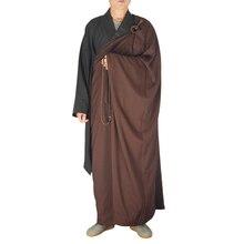 Unisex Buddista monaco Zen Meditazione vesti dei monaci Shaolin Temple Monaco  vestiti Kung fu Uniforme Vestiti monaco vestito 5581b9a0826