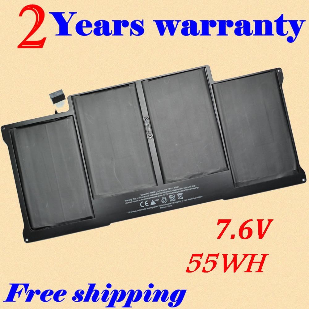 JIGU A1496 A1369 A1377 Laptop battery For Apple MacBook Air 13 MC503  MD760CH/A 13 MC504JIGU A1496 A1369 A1377 Laptop battery For Apple MacBook Air 13 MC503  MD760CH/A 13 MC504