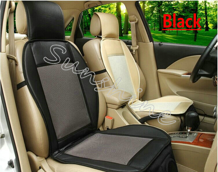 12 V Car Air Cushion Summer Cool Ventilated Seat Cover With Fan Cooler For Ford Focus 2 Golf In Automobiles Covers