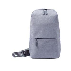Image 3 - Original Xiaomi Rucksack städtischen freizeit brust pack Für Männer Frauen Schulter Typ Unisex Rucksack für kamera DVD handys reisetasche