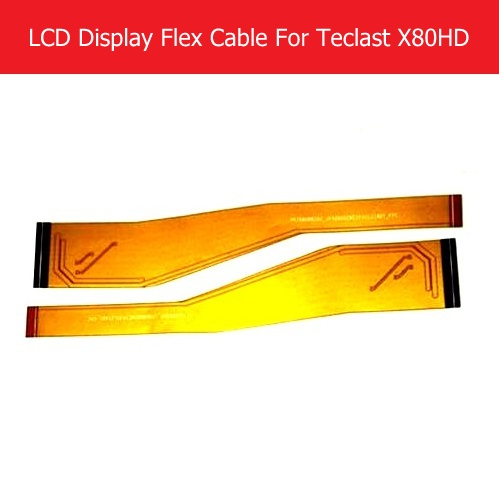 100% Genuine LCD Panel Flex Cable For Teclast X80HD 8.0 LCD Display PCB Flex cable connect mainboard replacement parts soncci lcd video flex cable for hp probook 4330s 4535s laptop screen display cable