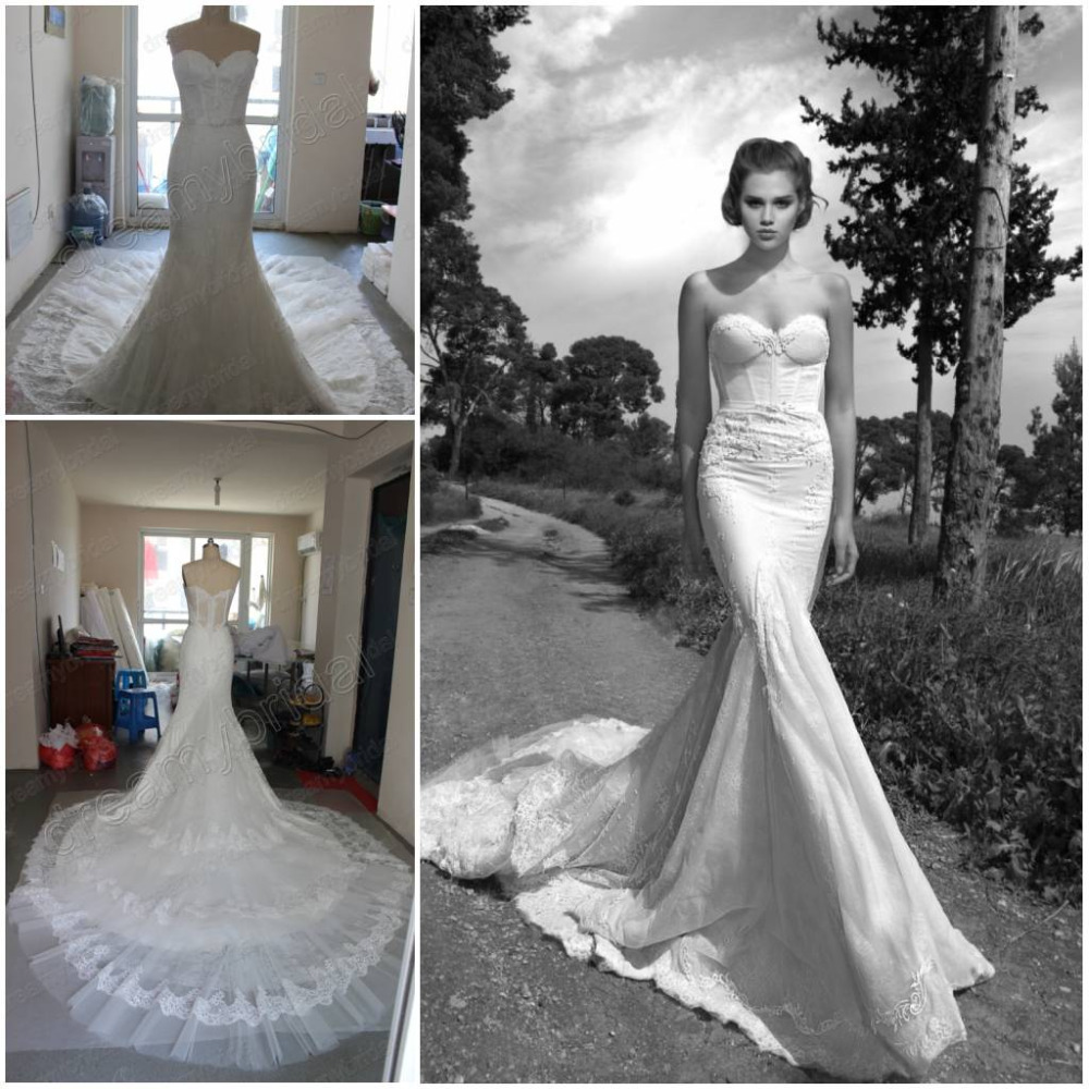 Inbal Dror Wedding Gowns: Free Shipping New Sexy Sweetheart Vintage Inbal Dror