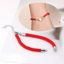 Good Luck Handmade Red String Bracelet Wristband DIY Kabbalah For Jewelry Making(China)