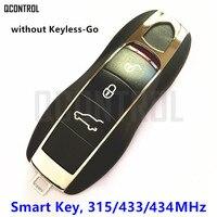 QCONTROL 3 Buttons Smart Remote Key 315MHz 433MHz 434MHz For Porsche Panamera Macan Cayman 911 918