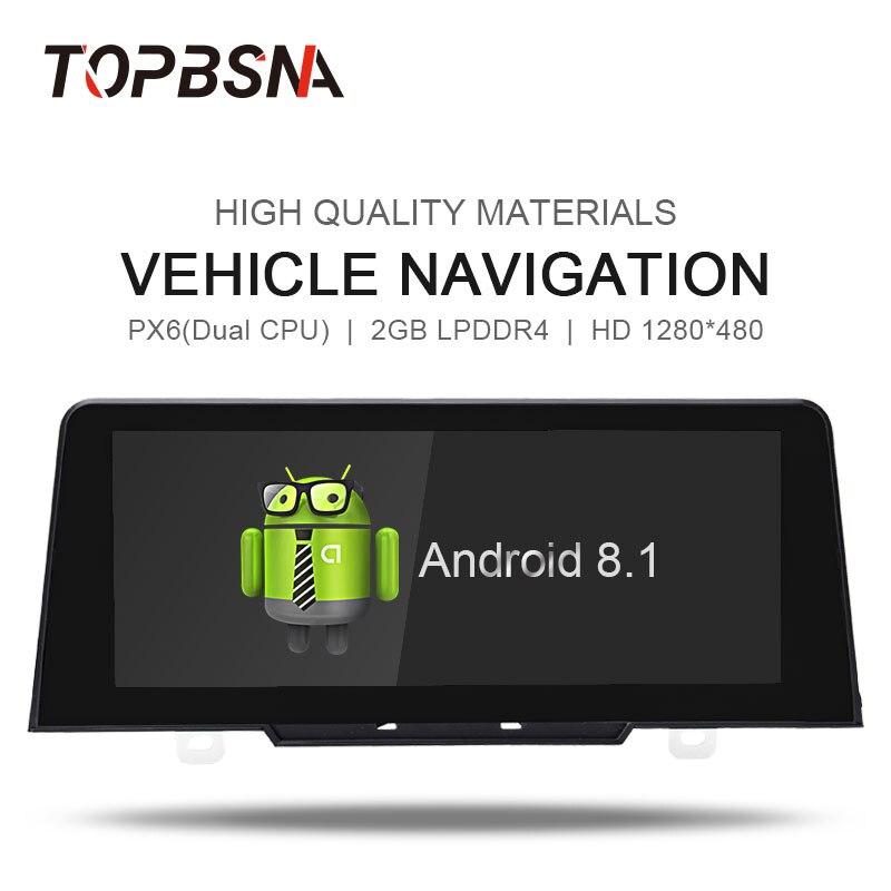 TOPBSNA 1 din Android 8.1 multimédia automobile pour bmw série 1 F20/F21 (2017) système d'origine NBT lecteur DVD de voiture Headunit WIFI