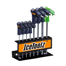 Icetoolz 7M85 Bike TwinHead Wrench Set bike tools multitool set of tools set of tools kraton ts 15