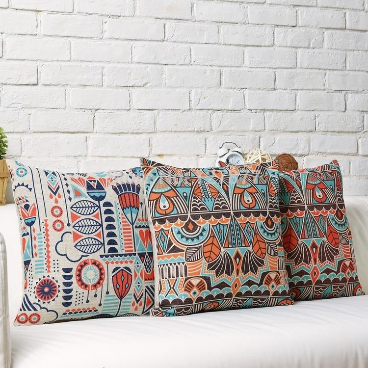 nordic bohemian home decor pillows casesred sofa pillowshome derocative throw pillows geometric burlap modern cushion cushionsin cushion cover from home