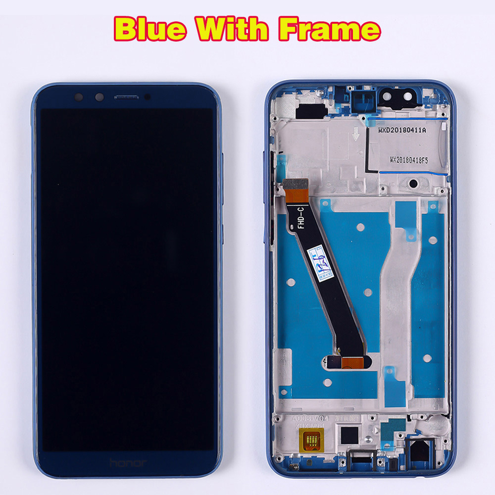 HTB1QZ35RrvpK1RjSZFqq6AXUVXaj Huawei Honor 9 lite 5.65 inch lcd Display Huawei Honor 9 Youth Edtion Touch screen Digitizer Assembly Frame with Free Tools