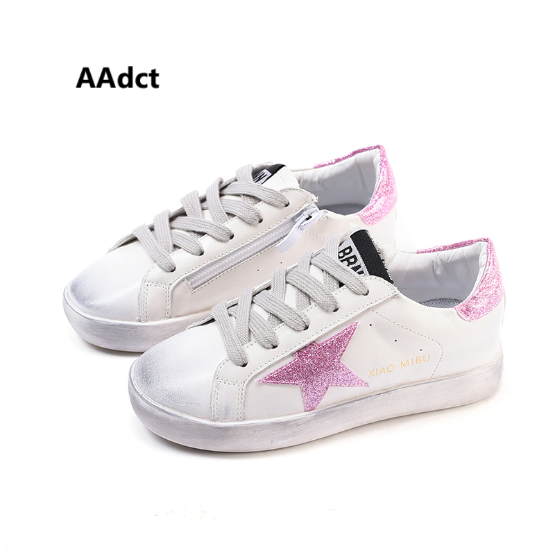 AAdct Autumn Casual girls shoes fashion new spring running children shoes for girls Soft leopard lace kids shoes sneakers sports new children s shoes in the spring of autumn boy girls running shoes casual shoes eur 31 37 yxx