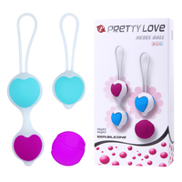 4Pcs Adjustable Vagina Exercise Kegel Balls Silicone Ben Wa Balls Vagina Tightening Flexible Collocation Love Ball Erotic Toys