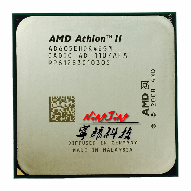 Четырехъядерный процессор AMD Athlon II X4 605E 605 2,3 ГГц, процессор AD605EHDK42GM/AD605EHDK42Gi Socket AM3 socket am3 athlon ii x4cpu processor   АлиЭкспресс