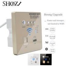 Usb wi fi Панельная зарядная розетка умный дом тип 86 Беспроводная