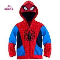 2 3 4 5 6 7 8 Ans Garçons Super Hero le Avengers Iron Man Manteaux Printemps Automne Garçons Veste Sweat À Capuche Enfants Vêtements