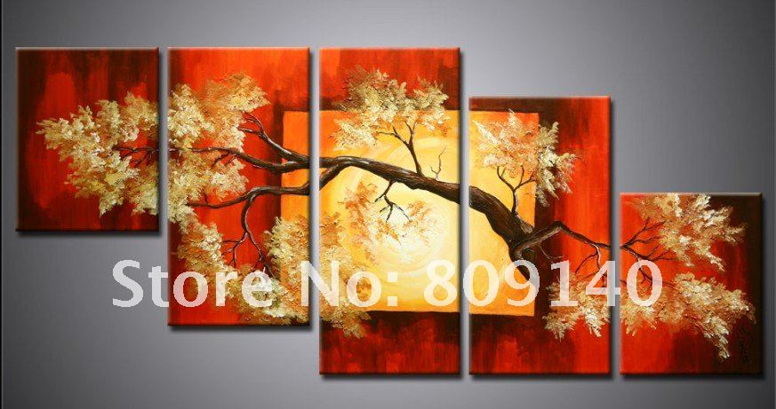 Amazing Red Wall Art Decor Festooning - All About Wallart ...