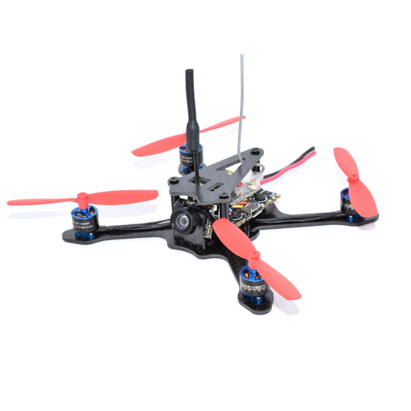 AuroraRC A100 1S Micro Brushless FPV Racing Drone w/ F3 OSD BLHeli_S 5A 48CH 25mw VTX 600TVL RC Quadcopter PNP BNF