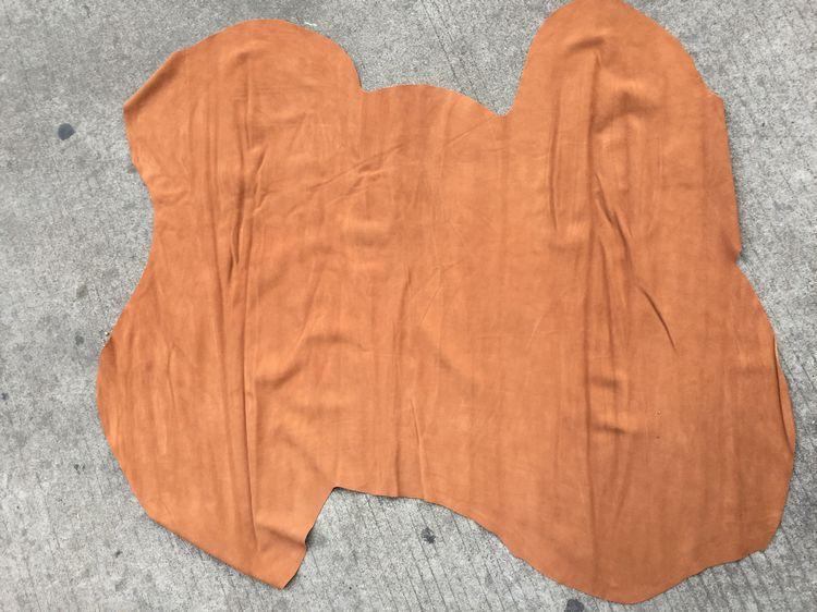 Tapicería de vaca gamuza genuino dividir cuero de piel de vaca venta por pieza entera