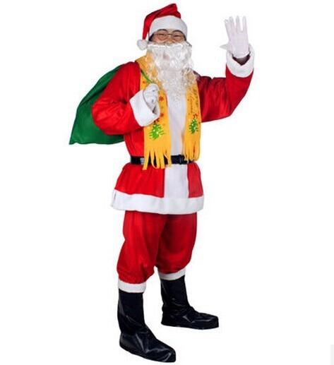 adult santa clause costume