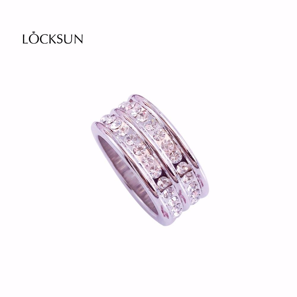 Модные кольца обещал кольцо кубический циркон кольцо Роскошные AAA Цирконий Micro Pave Установка большой многослойный полный палец кольцо