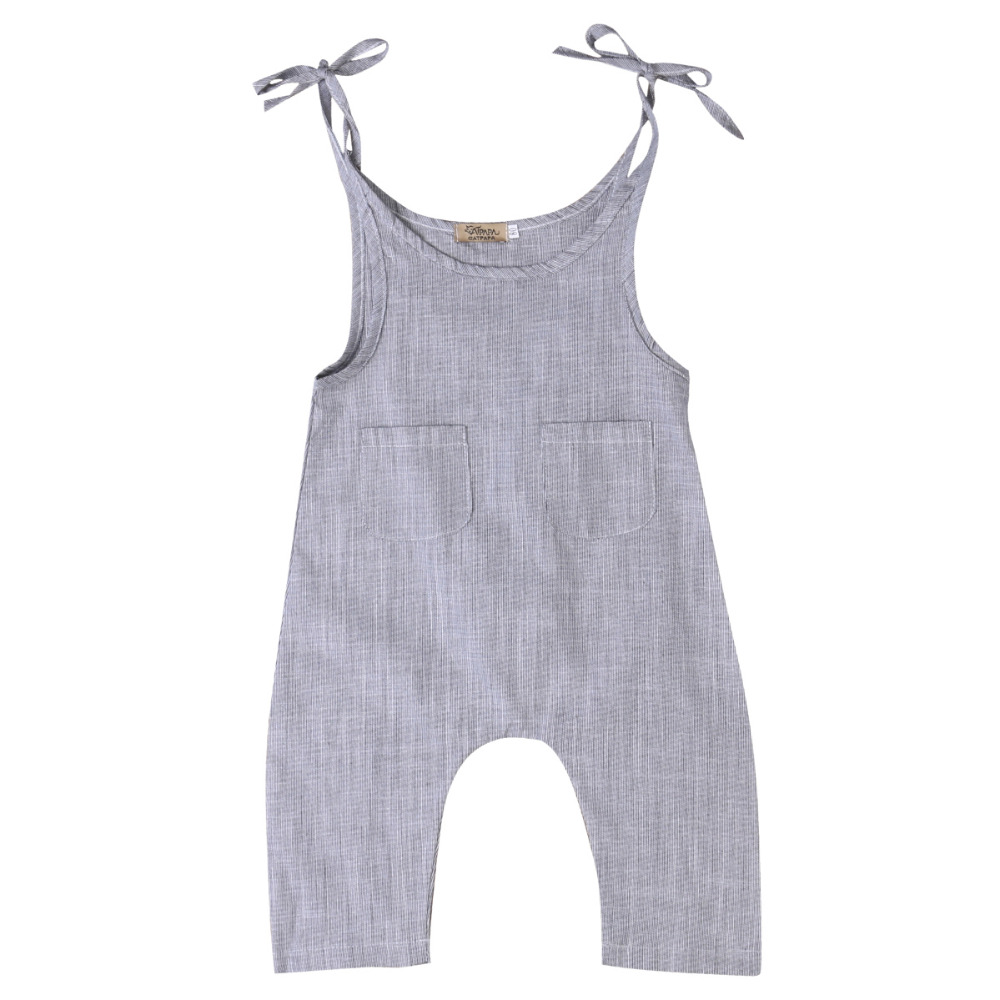 2017 Summer Baby Girl Romper Cotton Sleeveless Belt Striped Rompers Baby Girl Clothes Cute Jumpsuit Playsuit Outfit One-piece gentlemen style striped baby boy romper playsuit