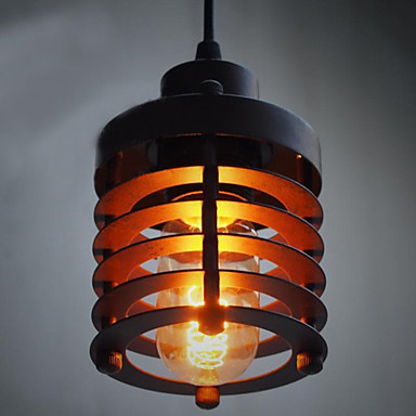 Industrial Painting Process Edison Bulb Loft Vintage Pendant Lights Lamp With 1 Light  Free Shipping проводные наушники gembird mp3 ep13 black