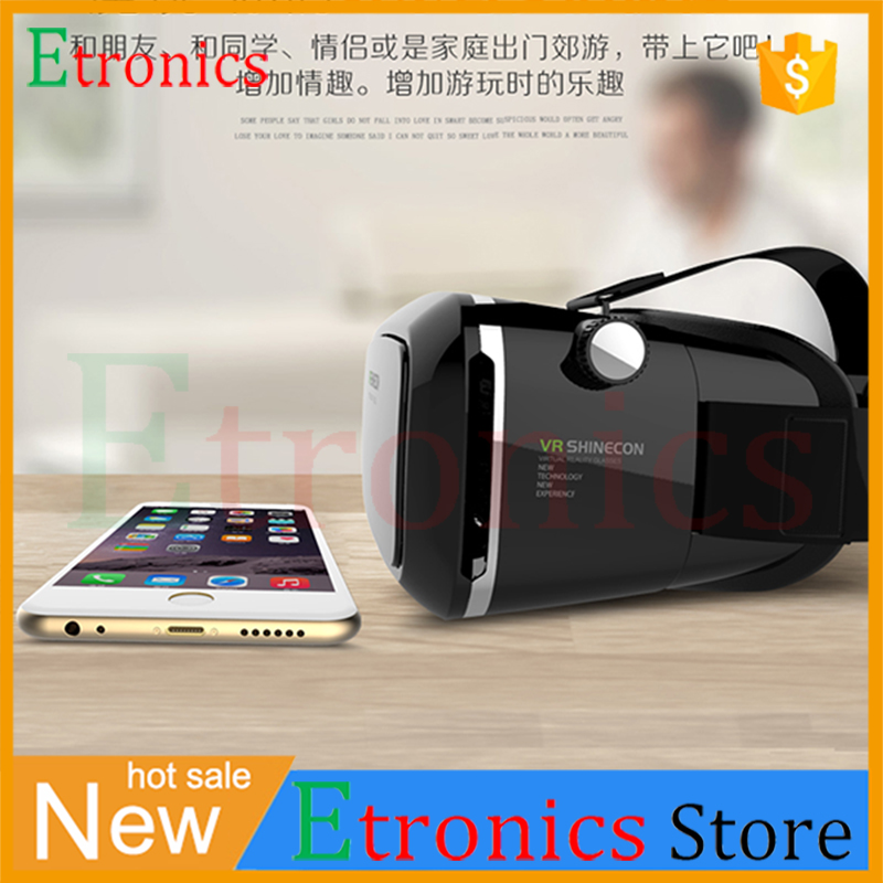 2016 Virtual Reality Headset 3 5 to 6 0 Inch Screens 3D font b VR b