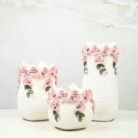 White European style living room decoration ceramic vase Home Furnishing wedding gift floral arrangement
