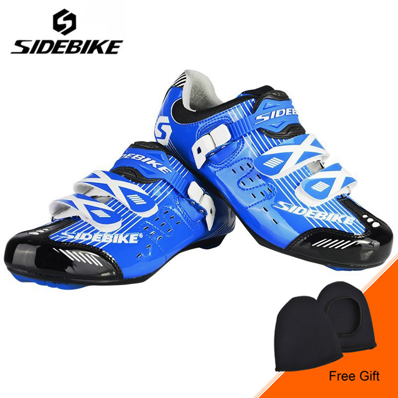 SIDEBIKE Professional Bicycle Cycling Shoes Men Road Bike Shoes Wear-resistance Ultralight Shoes Sapatilha Ciclismo Zapatillas sidebike mens road cycling shoes breathable road bicycle bike shoes black green 4 color self locking zapatillas ciclismo 2016