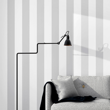 Nordic Grey Wtite Vertical Strip Wall Papers Home Decor Living Room Bedroom Wallpaper Stripe Contact Paper