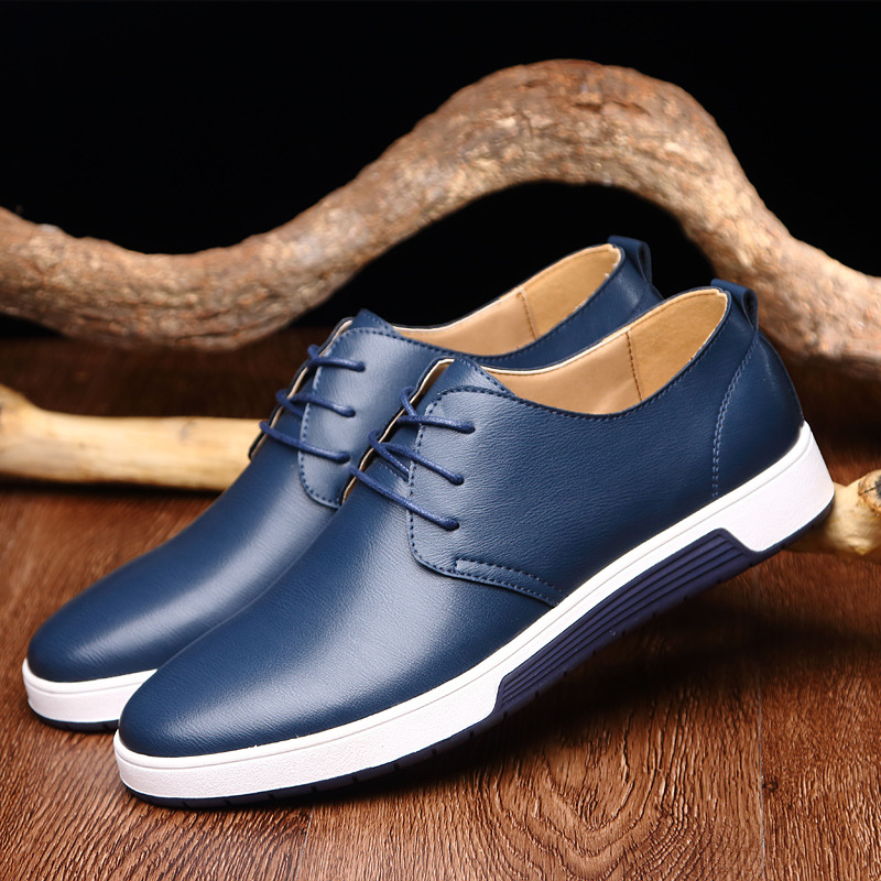 Fashion Summer Men Genuine Leather Flats Shoes Breathable Lace Up Male Casual Shoes Loafers Plus Size 37-47 Chaussure Homme shoes men fashion men casual shoes plus size 47 genuine leather men flat shoes best quality zapatos hombre lace up chaussure