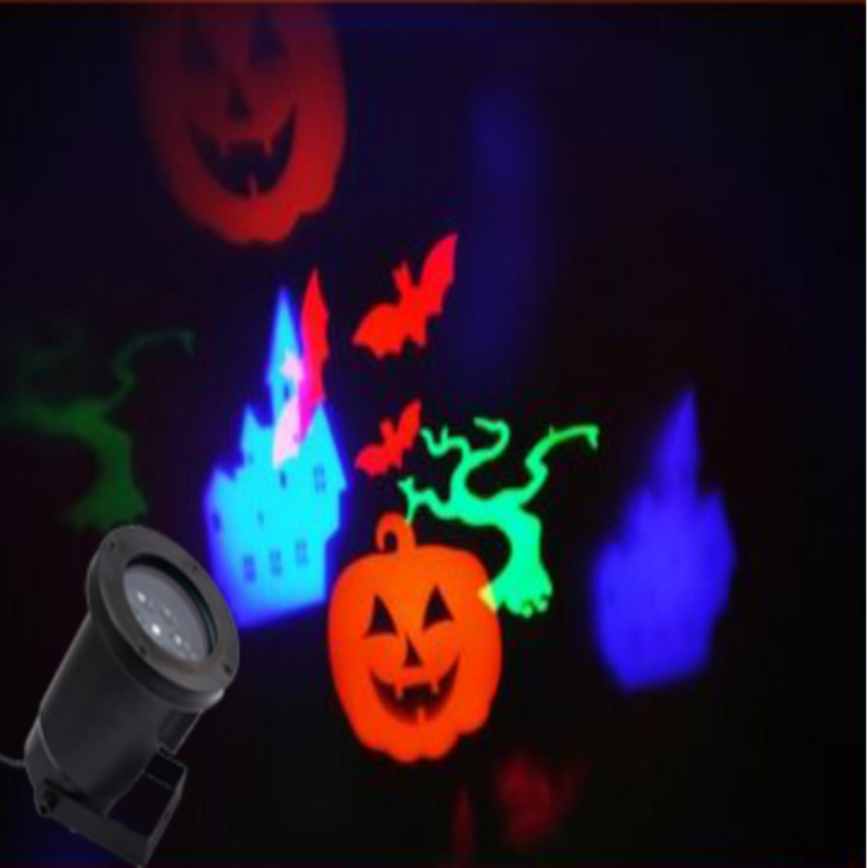 1X New Arrival 2016 Outdoor Halloween Led Light Projector,Thrilling  Halloween Projectors, Mini Colorful Halloween Lights,IP65