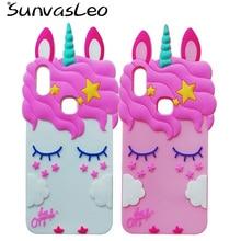 For Vivo V9 3D Pretty Unicorn Soft Silicone Case Cover Skin Phone Silicon Back Shell Cases Fundas
