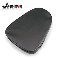 3 Stud Sissy Bar Universal Leather Backrest Pad For Motorcycle Harley Choppers