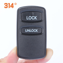 Two Button Car Remote Control Key Replacement Case Shell Suit For Mitsubishi Pajero V73 Outlander Accessories