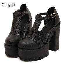 Gdgydh Hot Selling 2017 New Summer Fashion High Platform font b Sandals b font font b