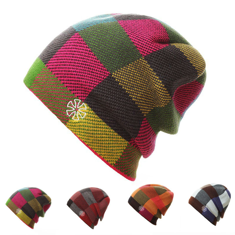 a7b10e44dd7b4 Aliexpress.com : Buy Women Winter Knitted Hats Gorro Beanie For Men Women  Beanies Mask Hat Bonnet Outdoor Sport Skiing Chapeu Cap from Reliable gorro  beanie ...