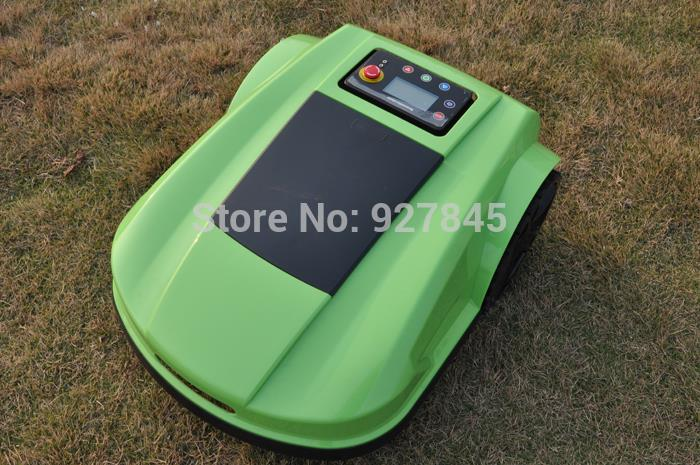 Auto Lawn Mower Robot Rechargeable Lawn Cutter Electric Lawn Mower with 4 blades Waterproof & Remote Controller S520