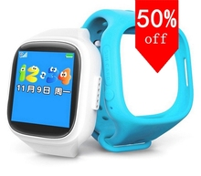 Neue Smart Telefon Kinder Kid Armbanduhr GSM GPRS GPS Locator Tracker Anti-verlorene Smartwatch Kind Schutz für iOS Android
