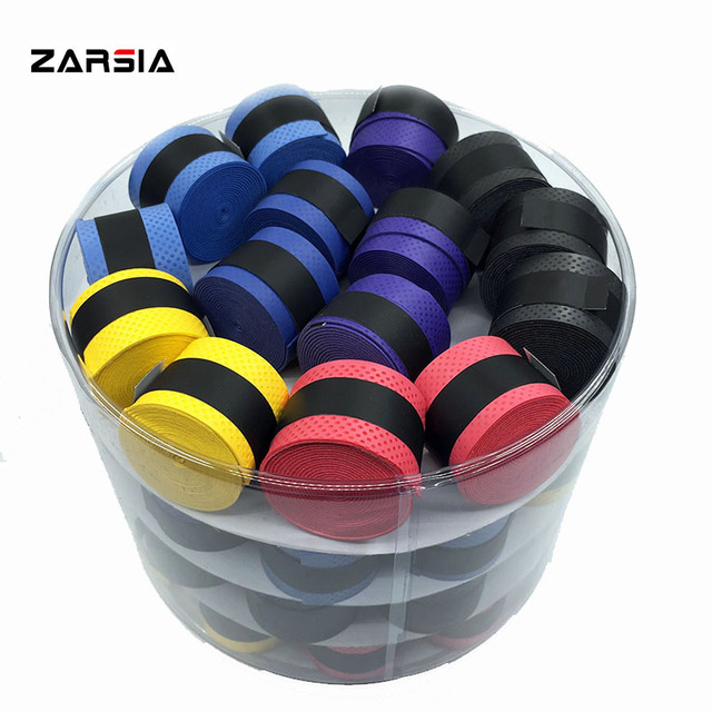 60 pcs free shipping NO LOGO pressure point dry feel Anti-skid Tennis Racket Overgrip Badminton rackets over Grips