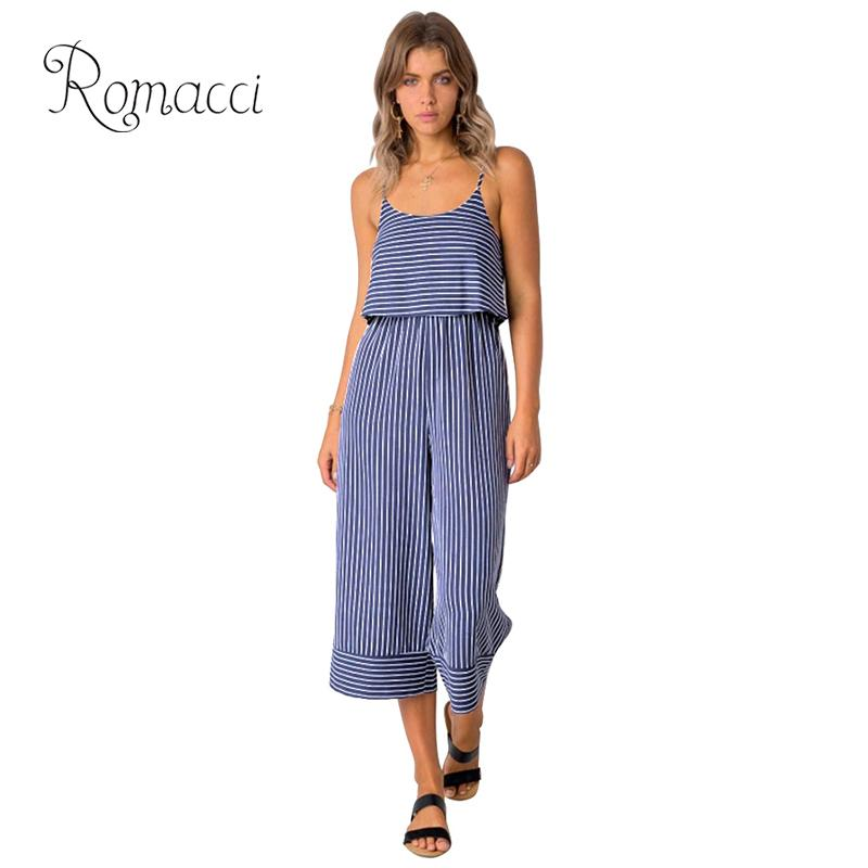 Jumpsuits 2019 New Summer Women Chiffon Jumpsuit Wide Leg Pants Lace Up Backless Playsuit Solid Color Hollow Causal Loose Women Overalls Attractive Designs;