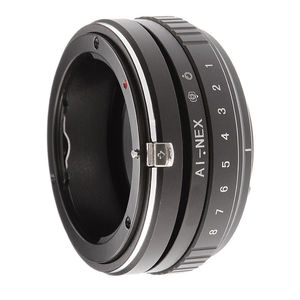 Image 1 - Tilt Shift Adapter Ring for Nikon AI F Lens to Sony E Mount Camera A7 R II A6500 A6000