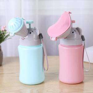 Portable Convenient Travel Cute Baby Urinal Kids Potty Girl Boy Car Potty Toilet Vehicular Urinal Traveling Urination Child Pot