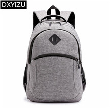DINGXINYIZU student anti theft school backpack for boy large waterproof bags men laptop male bagpack rucksack