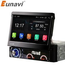 Eunavi 2G 7 cal 1 din samochód dvd Player Android 6.0 1080 P Wideo HD Ekran Multi-touch mondem automotivo car stereo z 4g