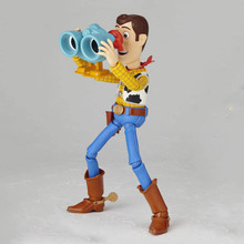 2019 new Toys Story 4 Woody PVC Action Plush Toy Figures Model Toys Kids Birthday Gift Collectible Doll for kids new led flashlight keychina with sound action toy figures raving rabbids keychain toys gift for child kids toys